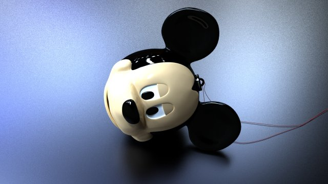 Download free Mickey 3D Model
