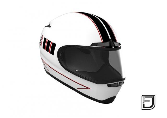 White Helmet H02 3D Model
