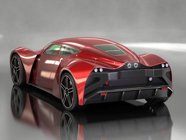 Marussia B2 3D Model