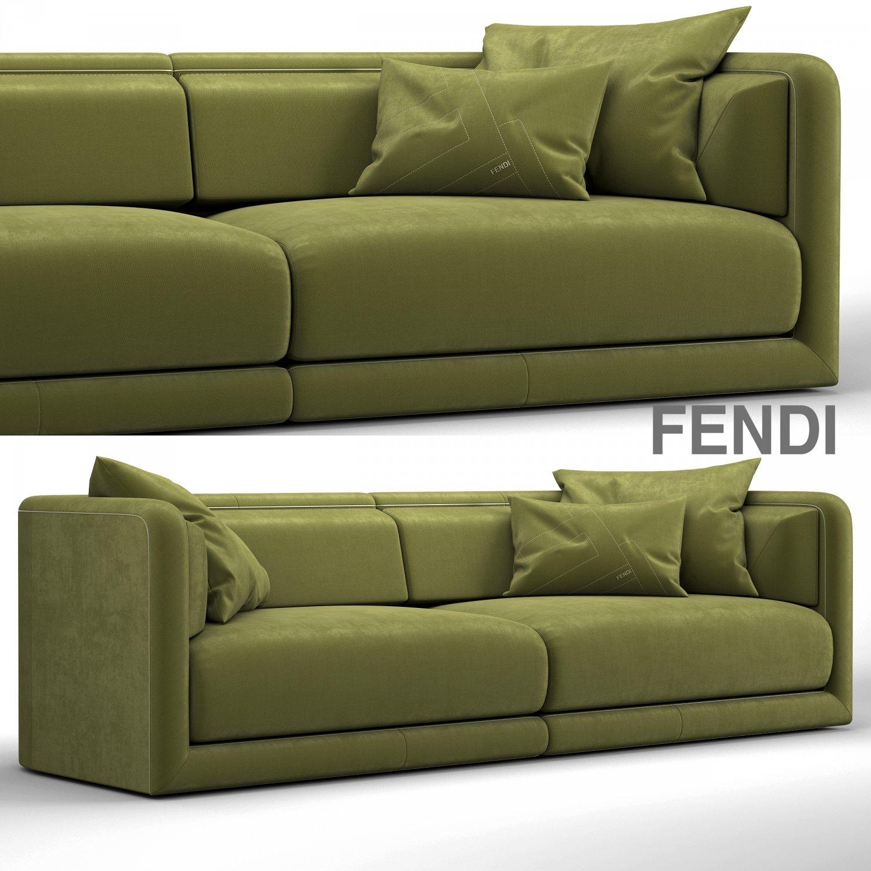 d7d18d4e0c8b Fendi casa conrad maxi sofa 3D Model in Sofa 3DExport