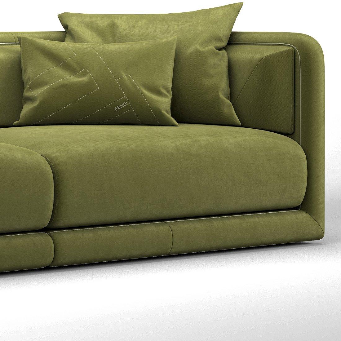 Fendi Casa Conrad Maxi Sofa. Remove Bookmark Bookmark This Item