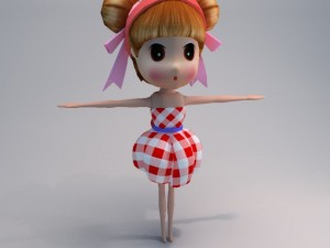 Doll violin