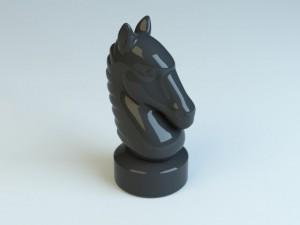 Chess Horse Figurine