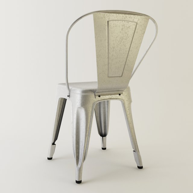 Tolix Metal Chair 3D Model