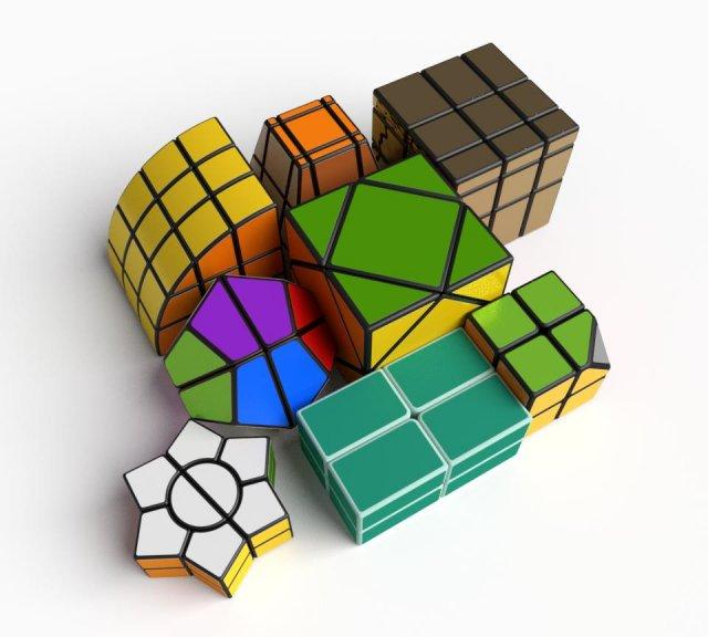 Скачать cube 3d модели