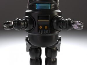 Robby The Tin Robot