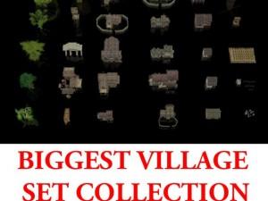 Biggest Village Set Collection