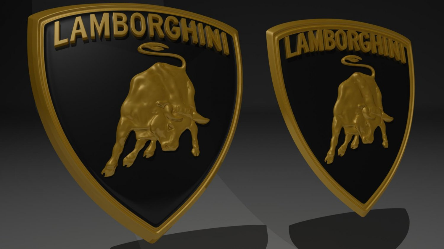 Lamborghini Emblem Badge 3d Model In Sport Cars 3dexport