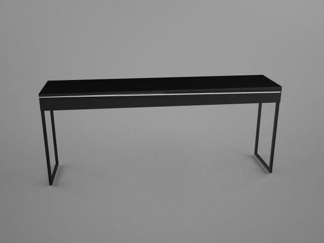 IKEA Besta Burbs Desk 3D Model