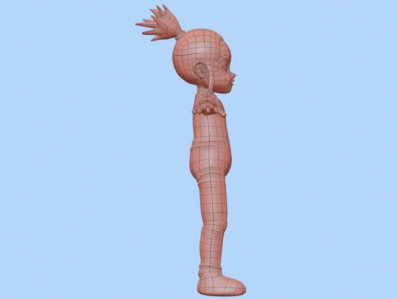 Großzügig Baby Girl Anatomy Galerie - Anatomie und Physiologie des ...