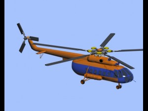 Helicopter MI8 HIP