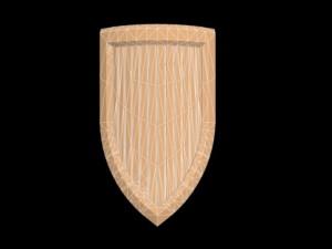 Small Basic Kite Shield