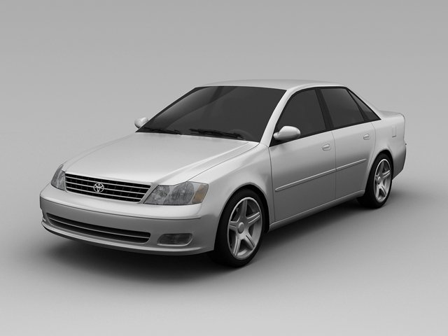 Toyota Avalon 2004 3D Model