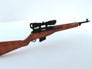 M14 wooden sniper special ops
