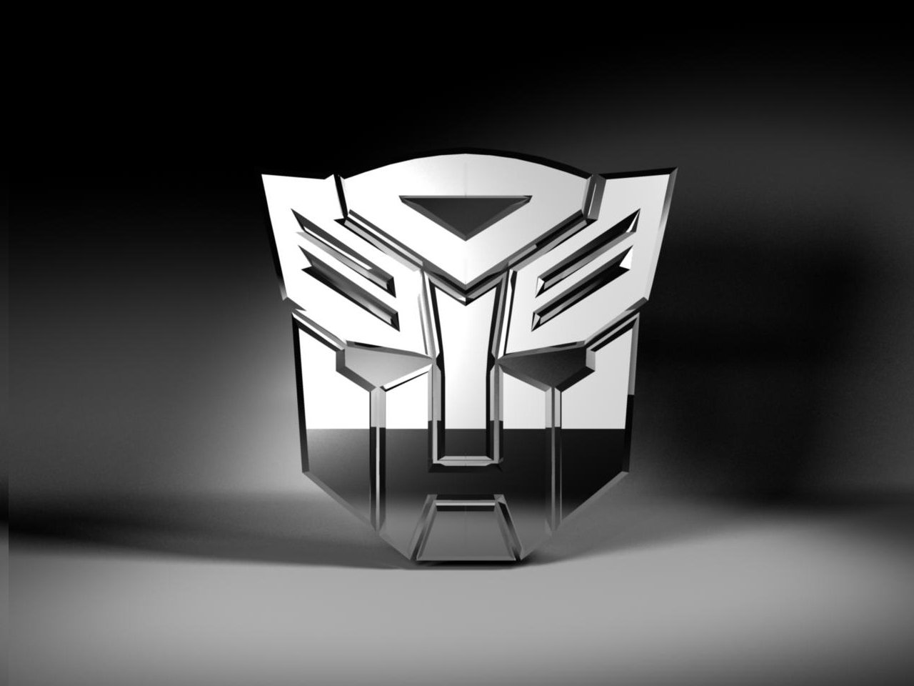 Transformers Autobots Logo 3d Model In Special Effects 3dexport