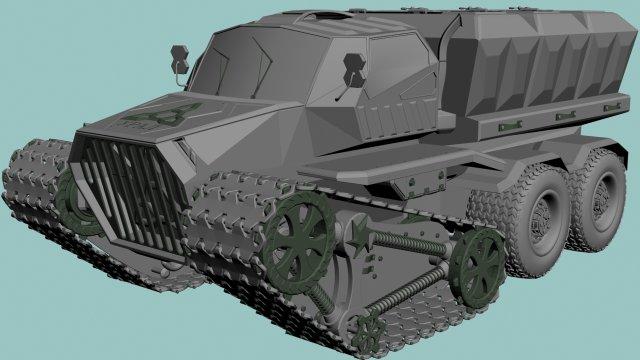 URAL 3D Model