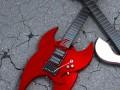 Horseshoe Electric Guitar