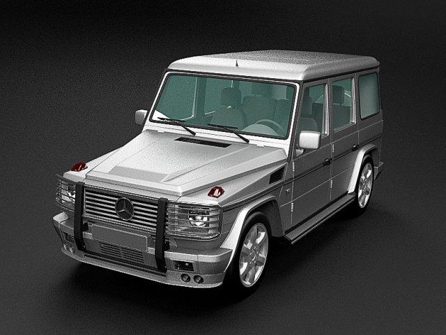 Mercedes Benz G class 3D Model
