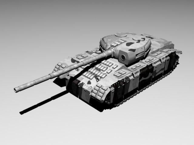 T80 3D Model