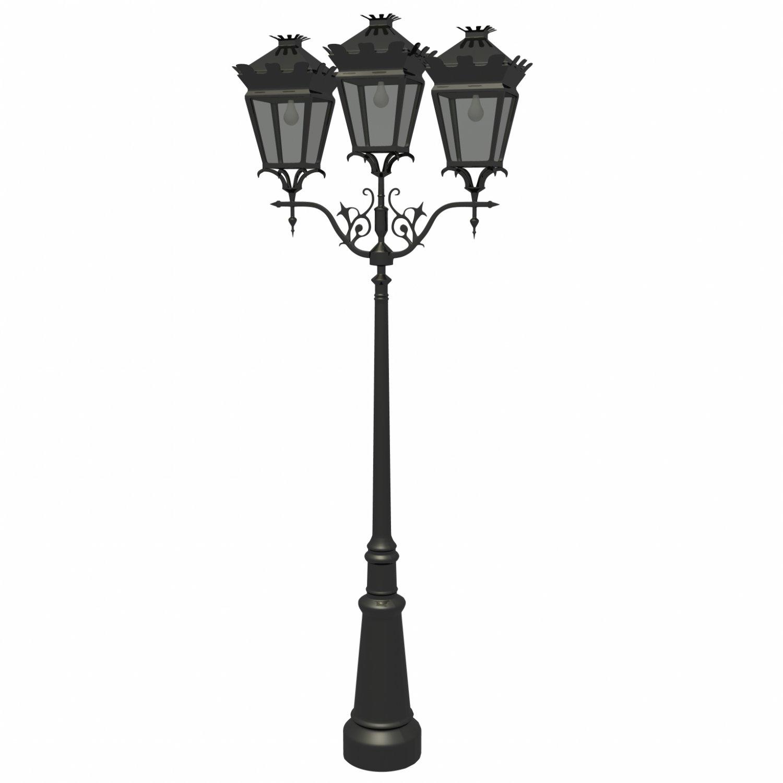 Street lamp Free 3D Model in Other 3DExport for Classic Street Lamp  103wja