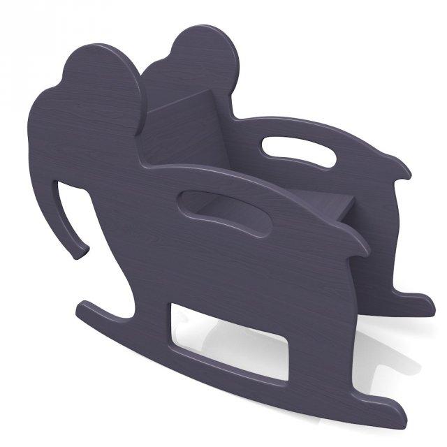 Rocking Elephant 3D Model