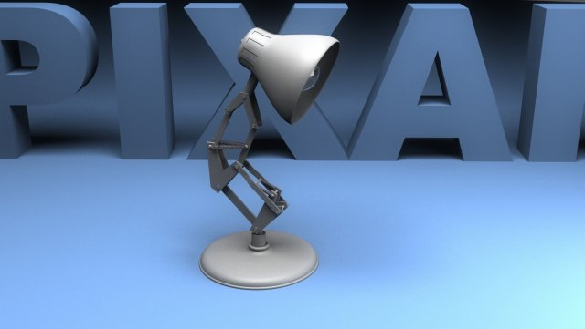 Pixar Lamp Free 3D Model in Cartoon 3DExport