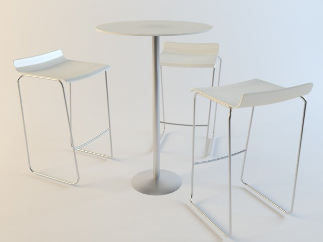 Kollekcia FLAKES 3D Model