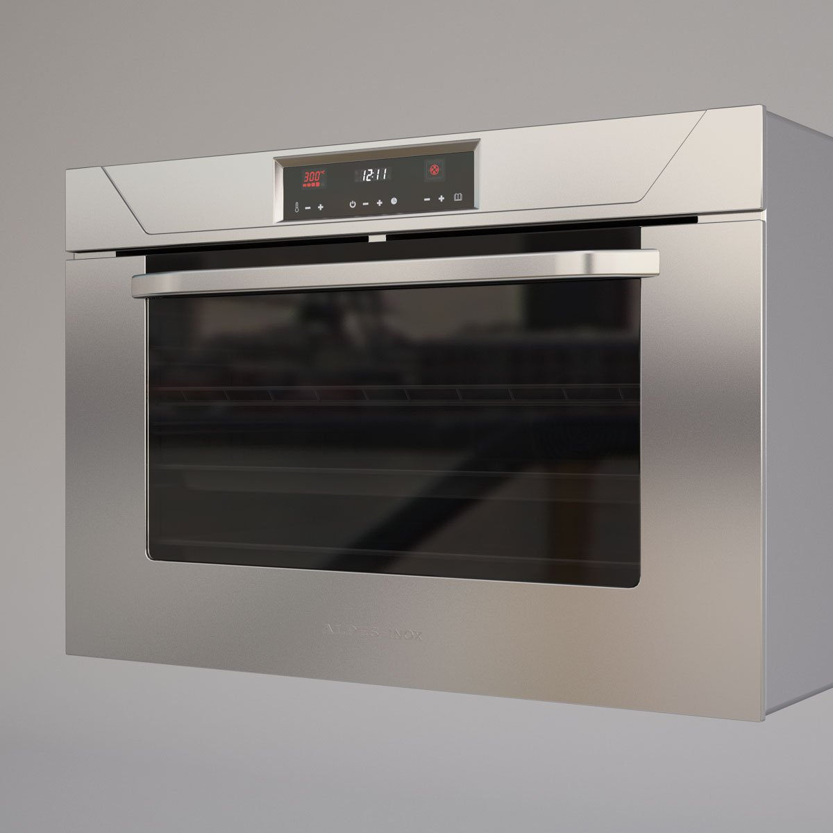 Alpes Inox Oven 3D Model in Cookware Tools 3DExport