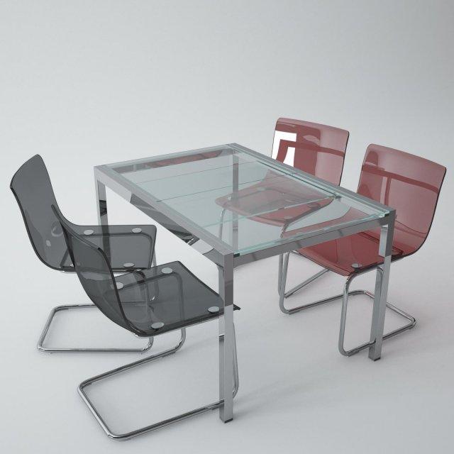 Ikea Tobias Ikea Glivarp 3D-Modell in Küche 3DExport