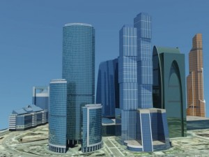 Moscow City 2012