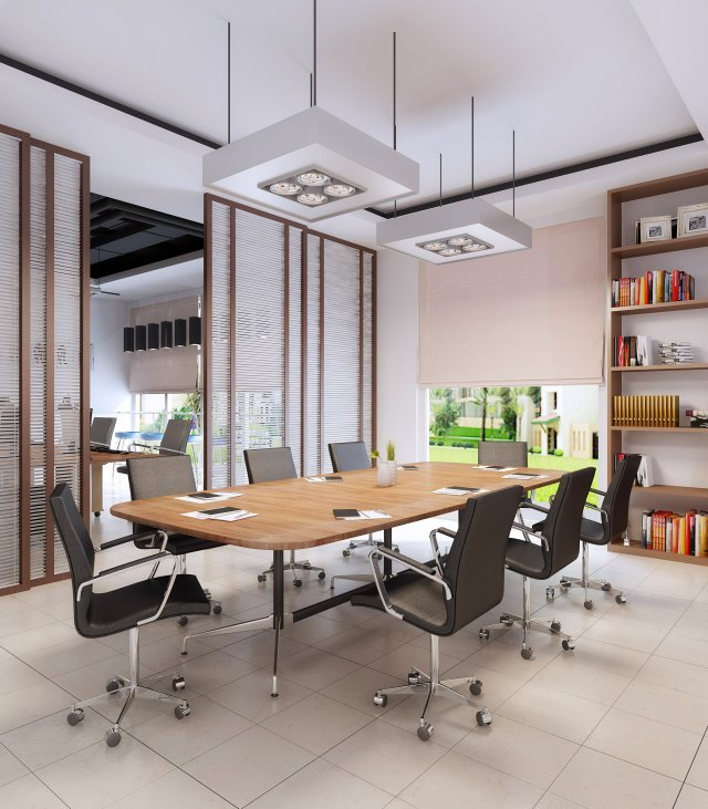 Office space 09 3D Model