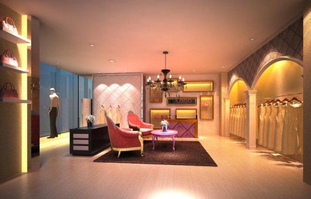 Store Spaces 033 3D Model