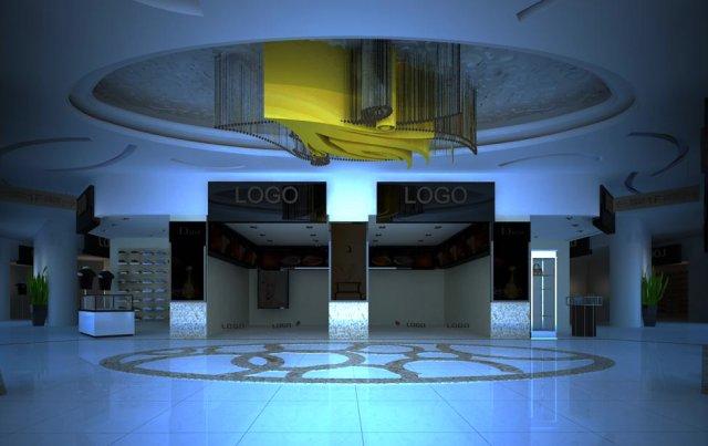 Store Spaces 025 3D Model
