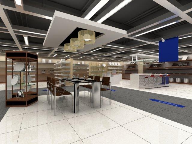 Store Spaces 042 3D Model