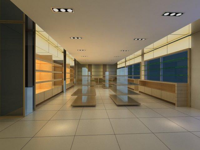 Store Spaces 044 3D Model