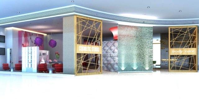Store Spaces 030 3D Model