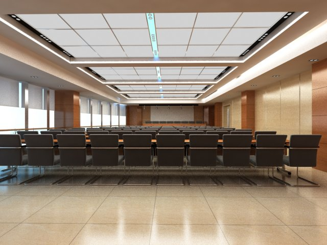 Conference spaces 063 3D Model