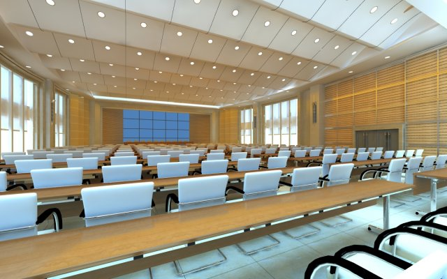 Conference spaces 058 3D Model