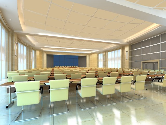 Conference spaces 061 3D Model