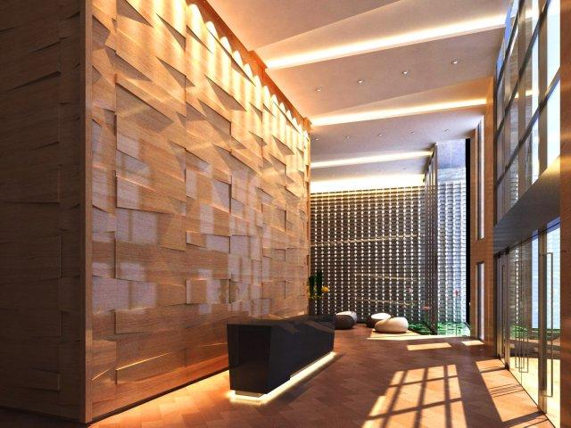 Lobby Space 055 3D Model