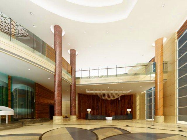 Lobby Space 033 3D Model