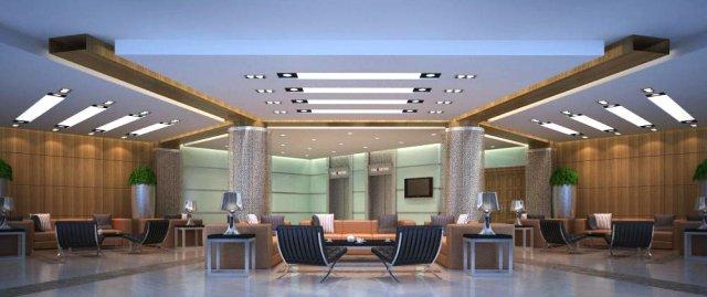 Lobby Space 061 3D Model