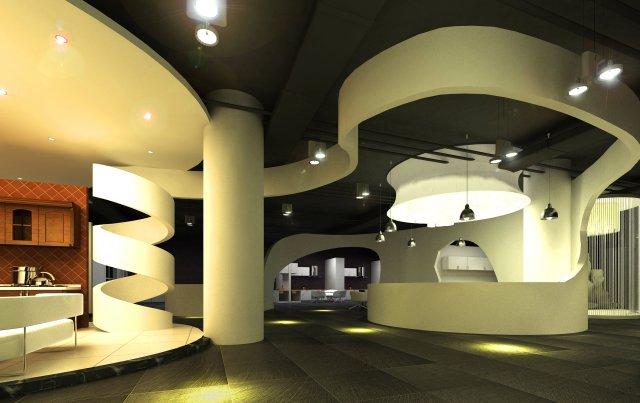 Lobby Spaces 172 3D Model