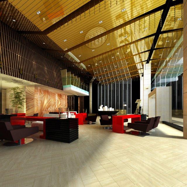 Lobby Spaces 181 3D Model