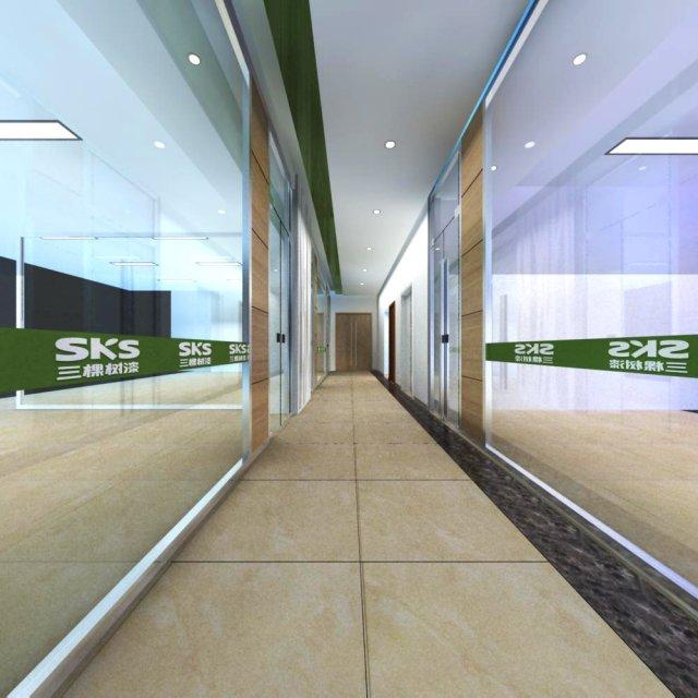 Corridor Spaces 055 3D Model