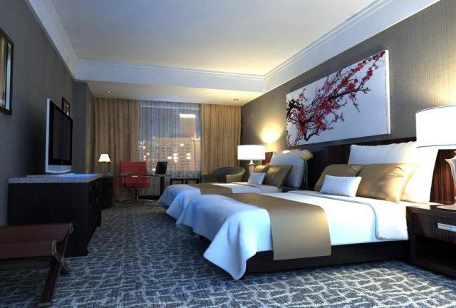 Guest Room 048 3D Model