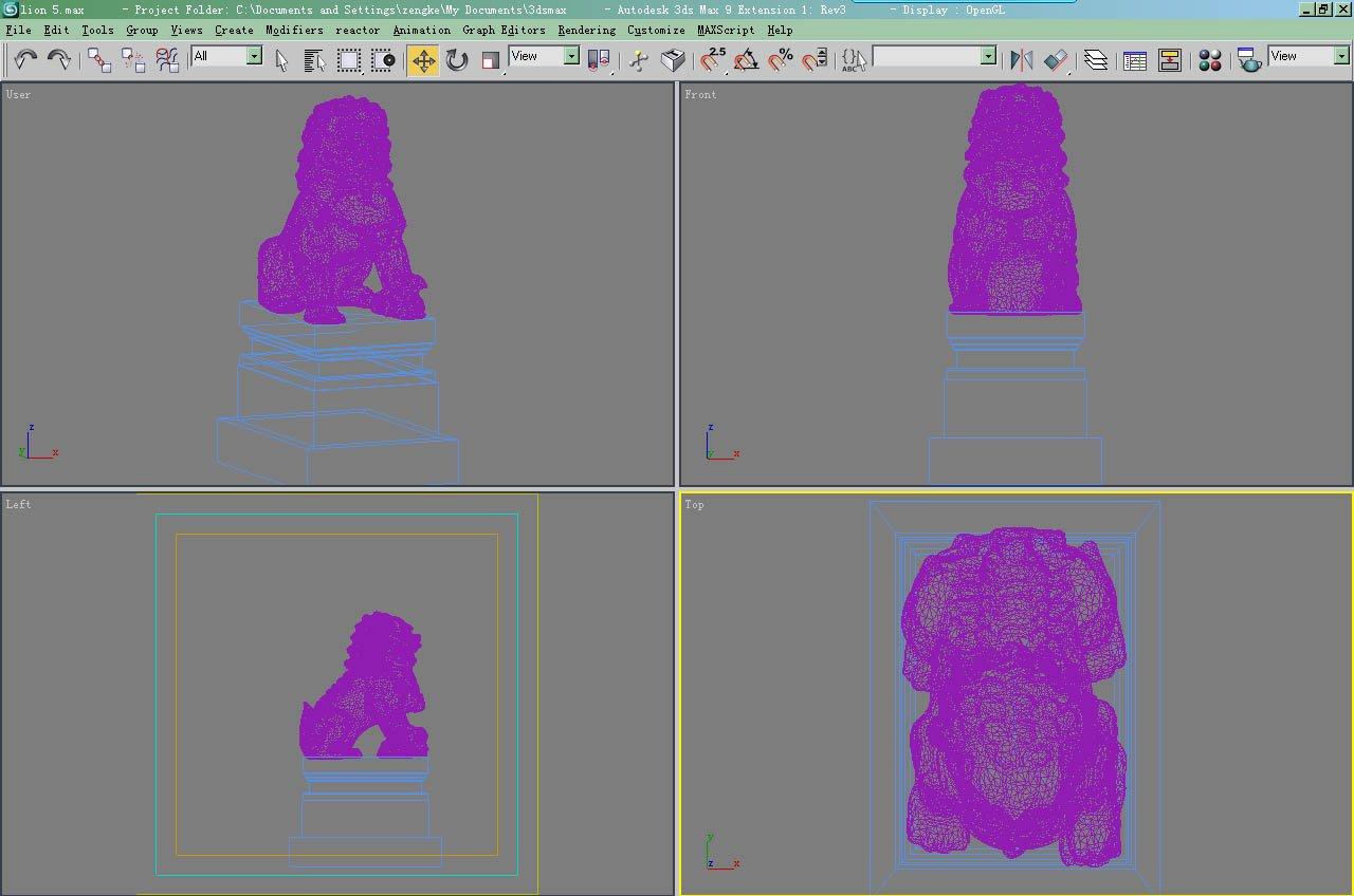 LION 5 3D Model in Miscellaneous 3DExport