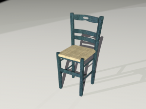 Traditional Chair from the Greek Islands