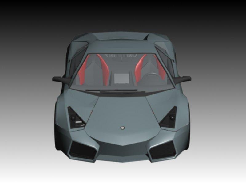 Lamborghini Reventon 3d Model In Concept 3dexport