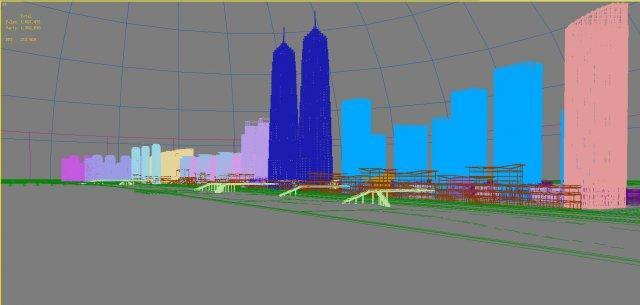 3d building 633 3D Model